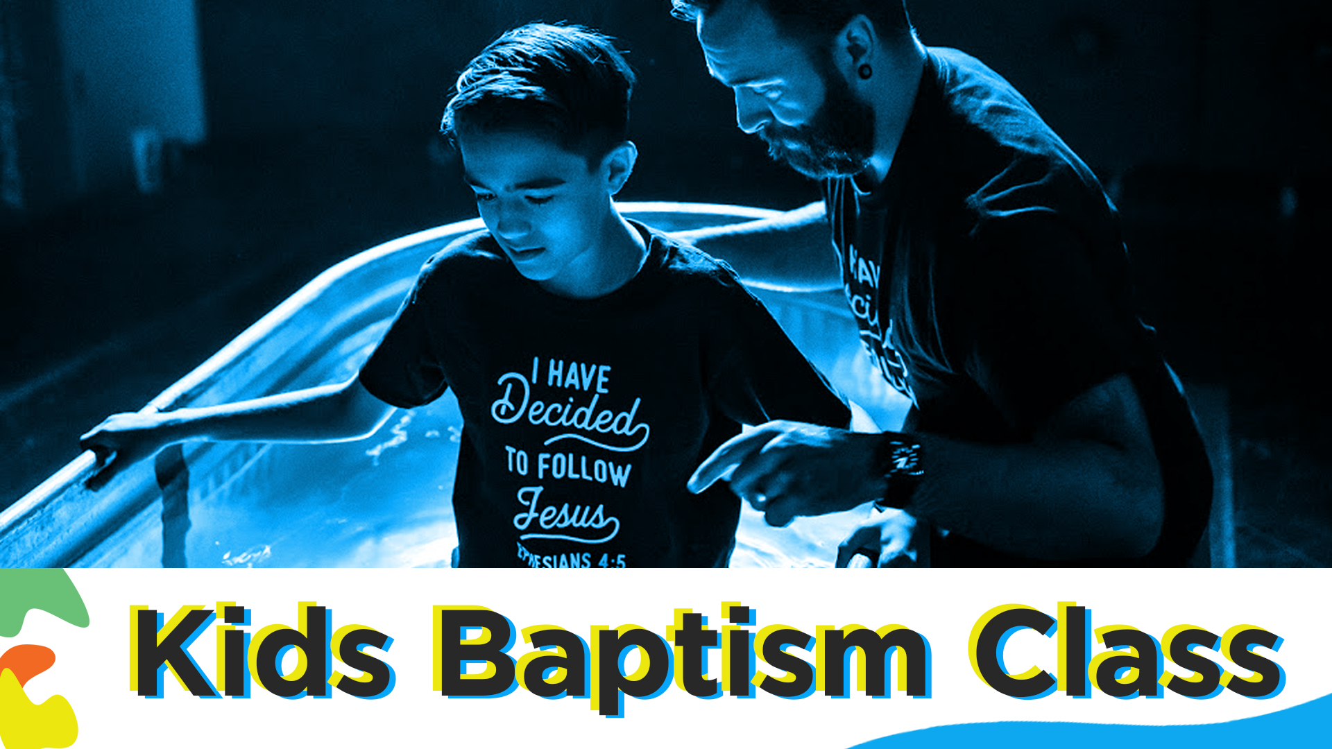 Image: Kid's Baptism Class