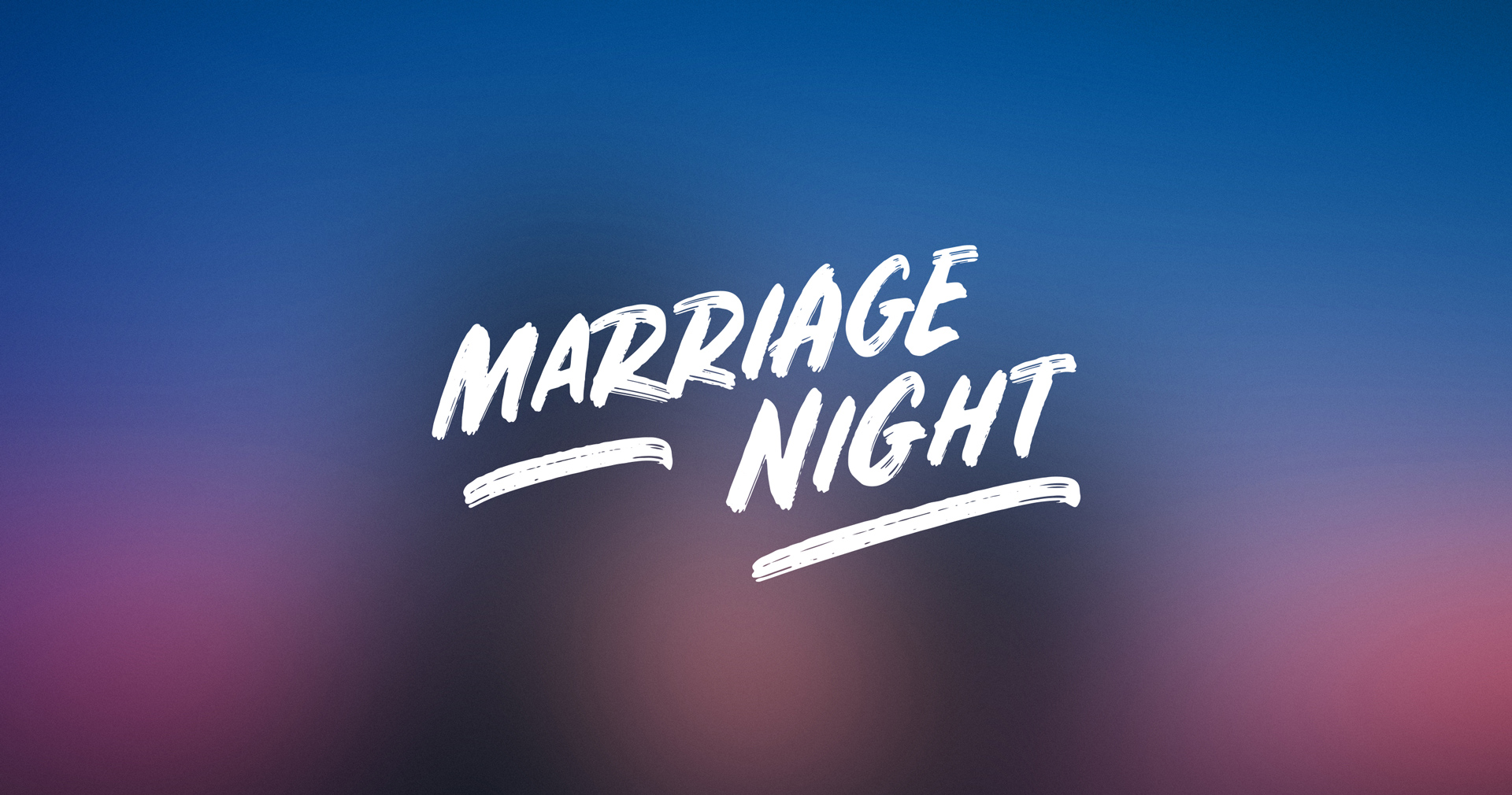 Image: Marriage Night