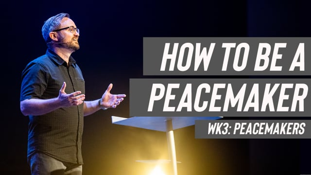 Image: How to be a Peacemaker