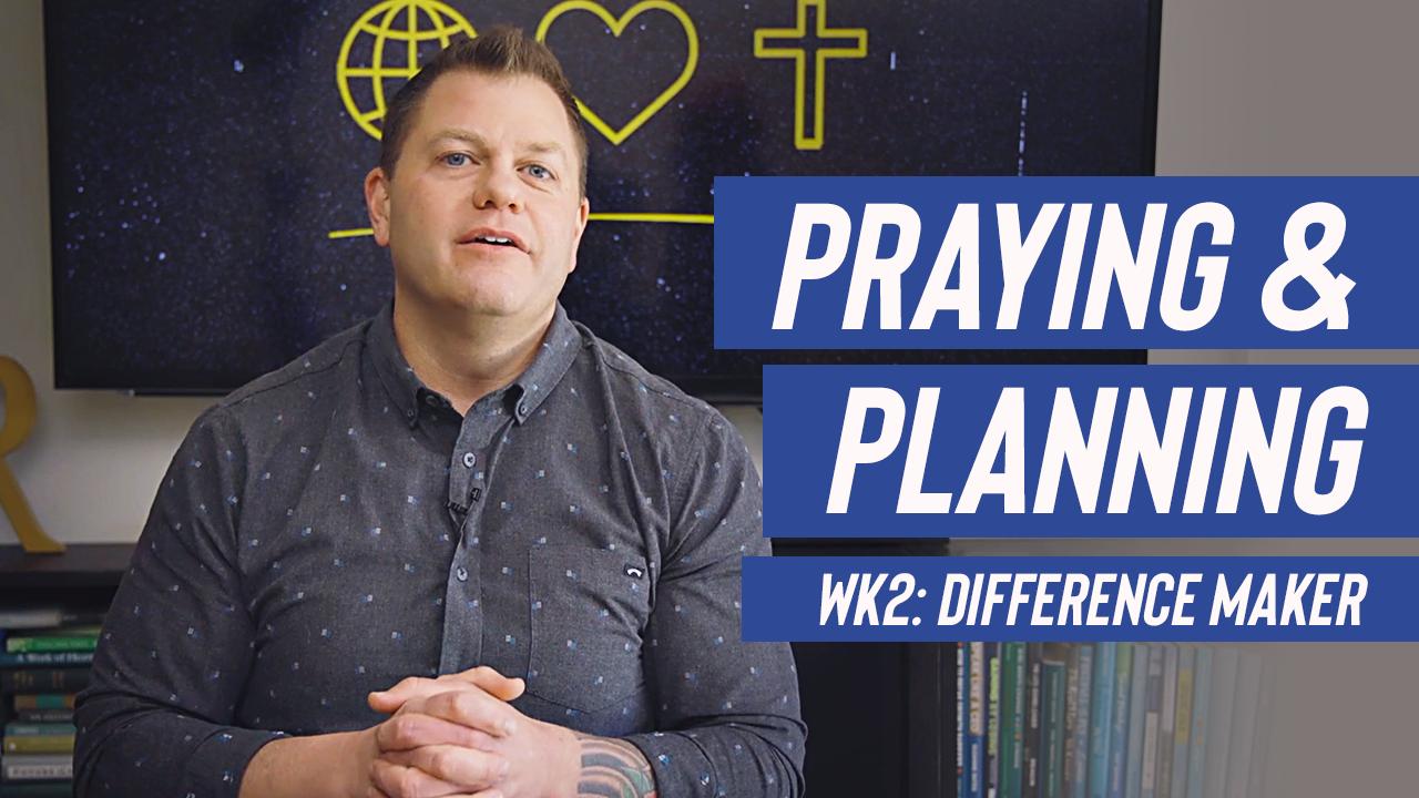 Image: Praying & Planning