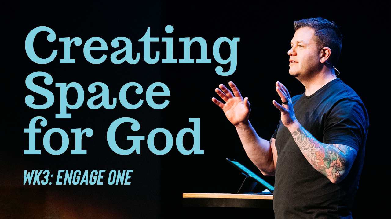 Image: Creating Space for God
