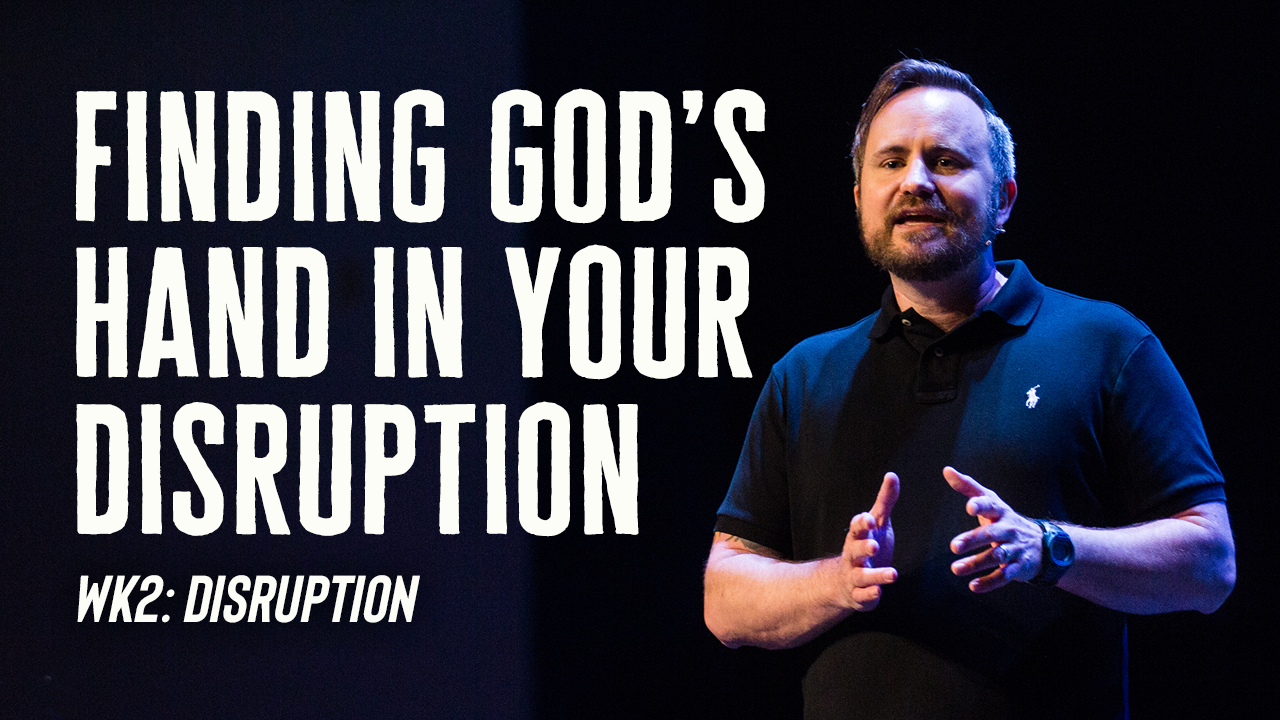 Image: Finding God's Hand In Your Disruption