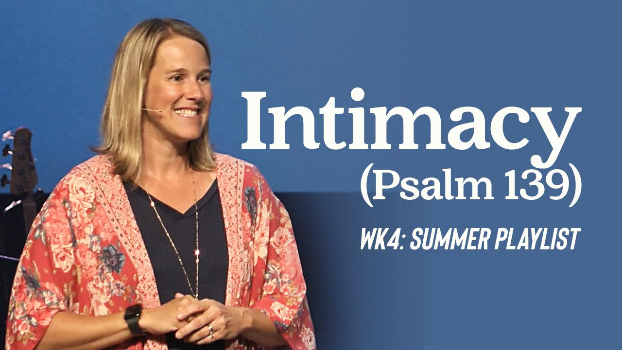 Image: Intimacy (Psalm 139)