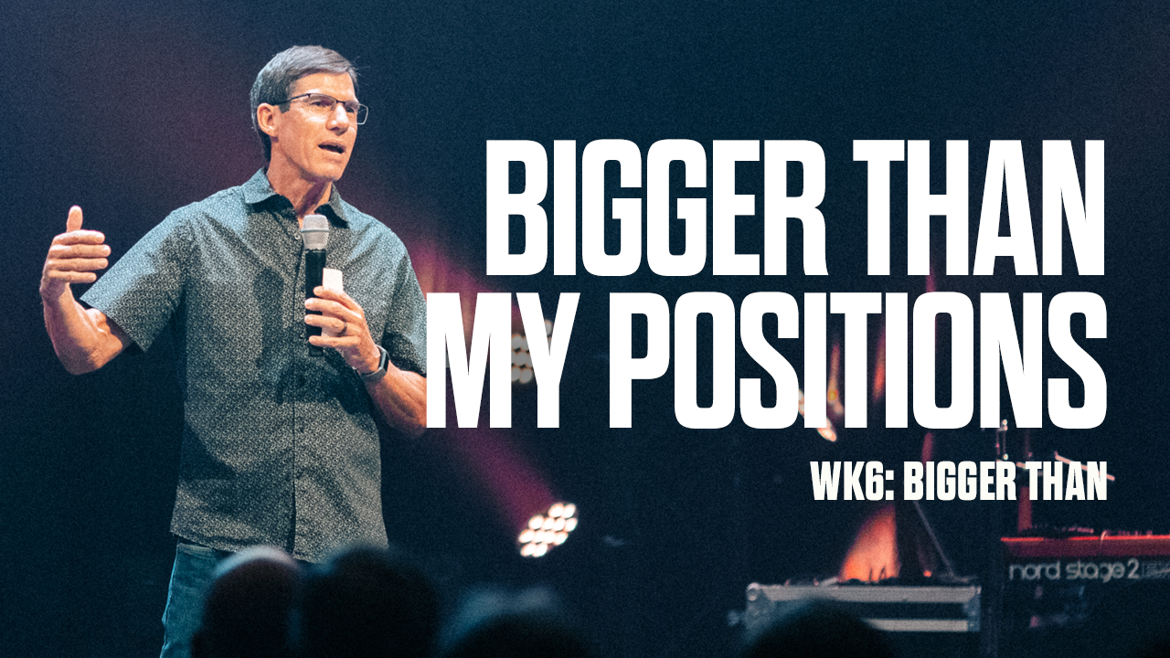 Image: Bigger Than My Positions
